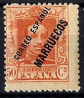 Tanger Nº 22 Con Charnela - Spaans-Marokko