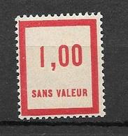 FRANCE FICTIF N°F49** Mnh Sans Charnière - Fictifs