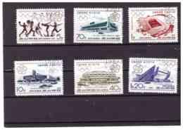 XX2592   -  COREA DEL NORD   /    CAT. MICHEL.    Nr.   2859/2864  SERIE COMPLETA USATA - Corea Del Nord