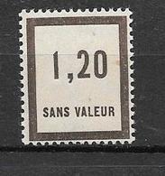 FRANCE FICTIF N°F50** Mnh Sans Charnière - Fictifs