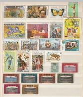 Togo. Sammlung Gestempelter (2x Geschnitten) Und Einer Ungestempelter Marken, Siehe Guten Scan. Paques 1975 ** - Togo (1960-...)