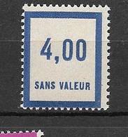 FRANCE FICTIF N°F54** Mnh Sans Charnière - Fictifs