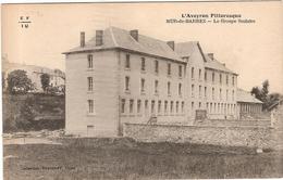 Lot 2 CPA Mur De Barrez Le Groupe Scolaire Vue Générale 12 Aveyron - Millau