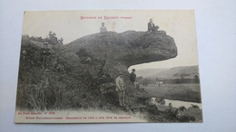 Carte Postale ( S9 ) Ancienne Environs De Pouxeux , Roche Bruchenaupierre - Pouxeux Eloyes