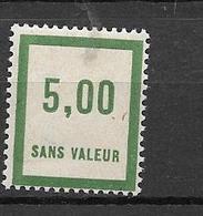 FRANCE FICTIF N°F55** Mnh Sans Charnière - Fictifs