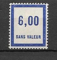 FRANCE FICTIF N°F56** Mnh Sans Charnière - Fictifs