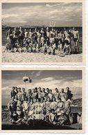 2 Photos De Vacances En 1960 à Caprera ,ile D'Italie En 1960,format 9/11. - Persone Anonimi