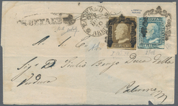 Italien - Altitalienische Staaten: Sizilien: 1859, 1 Grain, Position 38 Of The First Plate, Second S - Sicilië