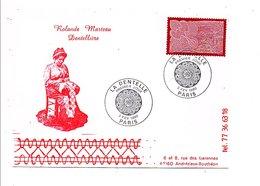 OBLITERATION LA DENTELLE 1990 - Commemorative Postmarks
