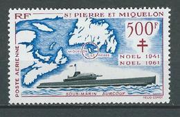 SAINT PIERRE Et MIQUELON 1962 . Poste Aérienne N° 28 . Neuf * (MH) - Unused Stamps