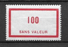 FRANCE FICTIF N°F60* - Fictifs