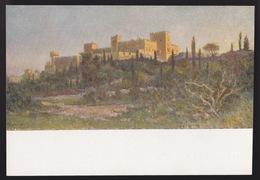 Anni 40 - RODI - Il Castello Di Rodi - Visioni Pittoriche Delle Isole Italiane Dell'Egeo Di LIDIO AJMONE - C_1074 - Grecia