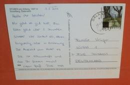 ÖSTERREICH 2516 FM Aufdruck - Dalaas 02.01.2006 ? - AK: Stuben Am Arlberg - Mehrbild -- Brief Postcard (2 Foto)(60618) - 1945-.... 2. Republik