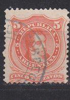 ARGENTINIEN ARGENTINA [1867] MiNr 0020 I ( O/used ) - Argentinien