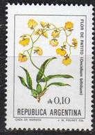 ARGENTINIEN ARGENTINA [1985] MiNr 1753 ( **/mnh ) Ex Blumen - Argentinien