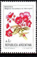 ARGENTINIEN ARGENTINA [1985] MiNr 1757 ( **/mnh ) Ex Blumen - Argentinien