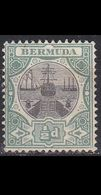 BERMUDA [1906] MiNr 0026 ( OG/no Gum ) - Bermuda