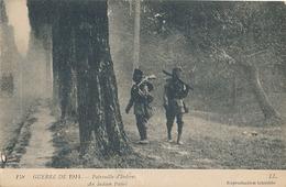 GUERRE DE 1914 - N° 158 - PATROUILLE D'INDIENS - War 1914-18