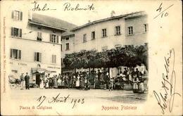 ITALIE - Carte Postale - Riolunato - Piazza Di Cutigliano - Appenino Pistoiese - L 30236 - Otras Ciudades