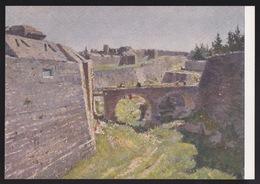 Anni 40 RODI - Porta Sant'Anastasio (Rodi) - Visioni Pittoriche Delle Isole Italiane Dell'Egeo Di LIDIO AJMONE C_1084 - Grecia