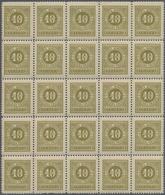 Montenegro - Portomarken: 1902. Postage Due. 5h Yellow-orange, 10 H Yellow-olive, 20h Purple-brown, - Montenegro