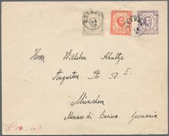 Montenegro - Ganzsachen: 1896. 7n Violet 1893 Prince Nicholas Stationery Envelope (157 X 126 Mm) Upr - Montenegro