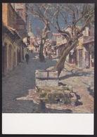 Anni 40 RODI - Il Vecchio Bazar (Rodi) - Visioni Pittoriche Delle Isole Italiane Dell'Egeo Di LIDIO AJMONE C_1090 - Grecia