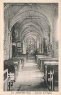 60 Rouvres Interieur Eglise Cpa Edit Aubry - France