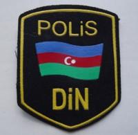 POLICE Patch AZERBAIJAN DIN - Polizei