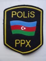 POLICE Patch AZERBAIJAN PPX - Polizei