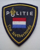 RARE POLICE Patch Netherlands UN / EU Missions - Polizei
