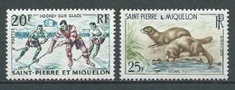SAINT PIERRE Et MIQUELON 1959 . N°s 360 Et 361 . Neufs ** (MNH) - Neufs