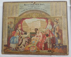 CALENDRIER Privé 1876 Année Bissextile   :  Maison CASMIR Noël à Meaux - Nouveautés (Mode, Couture, Grands Magasins) - Kalenders