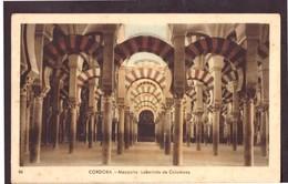 Tarjeta Postal. Espana. Cordoba. Mezquita. Laberinto De Columnas. Estado Medio. - Monuments