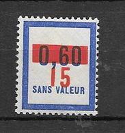 FRANCE FICTIF N°F72** Mnh Sans Charnière - Fictifs