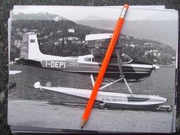 FOTOGRAFIA AEREO  CESSNA 180 SKYWAGON IDROVOLANTE   I-DEPI - Aviation