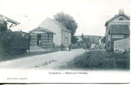 N°73135 -cpa Crespières -station Du Tramway- - Autres Communes