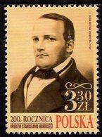 Poland - 2019 - 200th Anniversary Since Birth Of Stanisław Moniuszko, Polish Composer - Mint Stamp - 1944-.... Repubblica