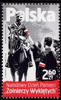 Poland - 2019 - National Day Of Remembrance Of Accursed Soldiers - Mint Stamp - 1944-.... Republic