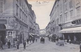 NICE - ALPES-MARITIMES - (06)  - PEU COURANTE CPA ANIMÉE DE 1906 - BEAU TAMPON. - Autres