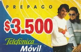 TARJETA TELEFONICA DE CHILE (PREPAGO). Couple 1. 28-07-04. CL-TMO-005. (306) - Chile