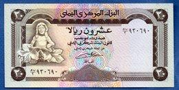 Yémen -  20 Rials   -  Pick # 25  --  état SPL - Yemen