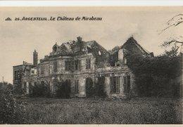 ARGENTEUIL (95). Le Château De Mirabeau - Argenteuil