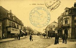 Lure Rue Carnot Cachet Train Sanitaire PLM - Lure