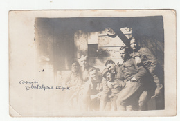 WWI Austrohungarian Officers II Battalion 25th Regiment Old Photo (1918) B190601 - Krieg, Militär