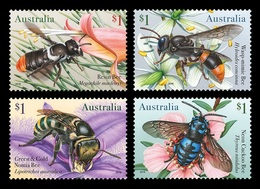 Australia 2019 Mih. 4938/41 Fauna. Native Bees MNH ** - Mint Stamps