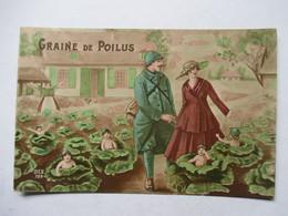 BEBES  - GRAINES DE POILU ( DANS LES CHOUS ET MILITAIRE.....)    TTB - Kinder