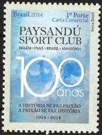 BRAZIL 2014  -  PAYSANDU SPORT  CLUB  - MINT - Unused Stamps