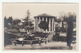 Roma Tempio Di Vesta Old Unused Postcard B190601 - Parks & Gardens