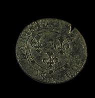 Double Tournois - Charles II De Gonzague - Charleville-Mézières - France - 1642 - RR - TB - - 476-1789 Monnaies Seigneuriales